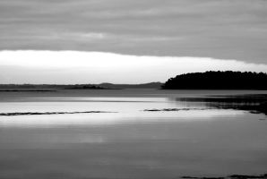 Black and White Coast by Emz-Photography