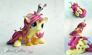 My Little Pony: Fluttershy Ponygriff by CalicoGriffin