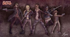 TWD- 'We. Don't. Die.' by SchteeveRoberts