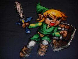 Link Perler Bead Art by Spevial101