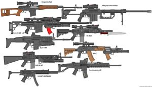 Gun wall of guns improved by jon646an2