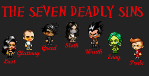 The Seven Deadly Sins by Jess2Lucky