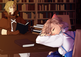 Ee: Getting some rest by Catrifer