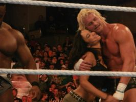 Dolph Ziggler and AJ Lee -Raw 3-11-13 by rkogirl1