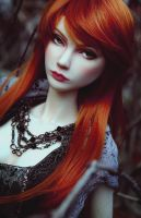 The red Witch III by Meanae
