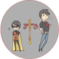 Young Justice Chibi by ChocoHal