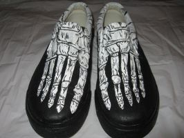 Skeleton Shoes by Night-Alice