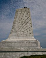 wright brothers memorial by gwumpysmurf