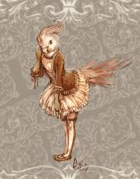 Sepia Tiel by CBSorgeArtworks