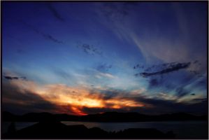Gourock Bay Sun Set by bladz56