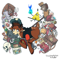 Gravity Falls by MIRROR11