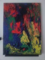 Untitled abstract painting 2 by mekkasop