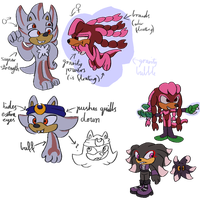 knuxadow kids by Metal-Echidna