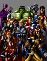 002 - Avengers by roadkillblues
