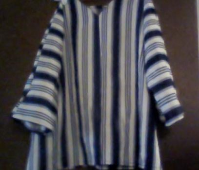 Striped child's tunic by Neecychu