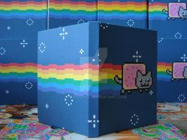 Nyan Cat Sketchbooks by MyFebronia