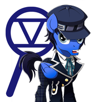 Equesona 4: Naoto Shirogane by One-Armed-Dragon