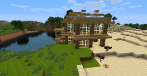 Minecraft houses by rapter33