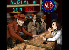Bioshock Infinite - Burial at Sea DLC - FanArt by Lokamie