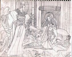 The Annunciation Jap. style by anelphia