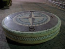 Galveston Compass Rose by jawnx108