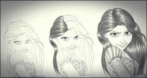 Tangled Rapunzel s2 by carldraw
