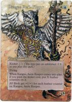 Magic Card Alteration: Kangee, Aerie Keeper by Ondal-the-Fool
