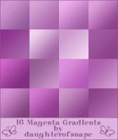 Magenta Gradients by daughterofsnape
