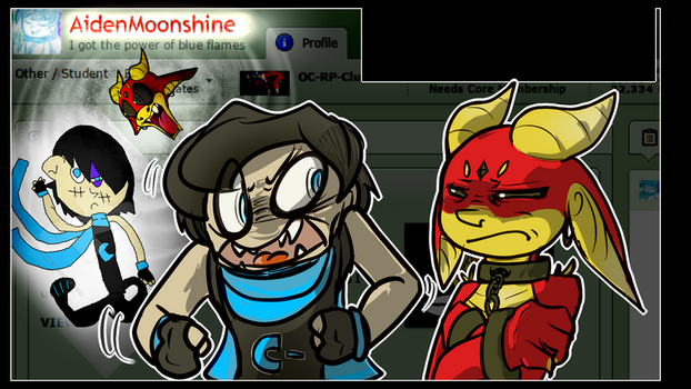 Rant on Moonshine clipart [Commission] by Herobrineing
