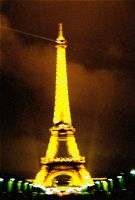 Eiffel Tower at Night II by Sparkyredboy