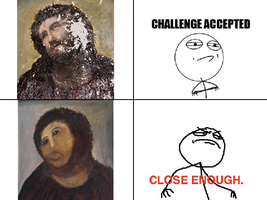 Rage Comic: Jesus painting by Kirby-Force