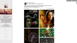 Tumblr Theme 06 by FireworkProdz