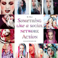 Something like a social network Action. by Mjzo