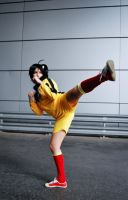 Karate bee - Karen Araragi cosplay by XiXiXion