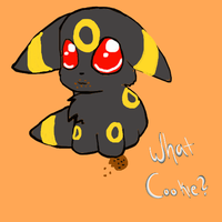 Umbreon's Cookie? *also for forestofthewarrior* by Brightleaves