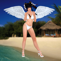 Nyotengu(Bikini) Dead or Alive 5 Ultimate by XKamsonX