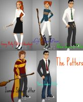 The Potters by Smellen1