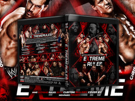 Wwe Extreme rules 2013 Cover by PHILLIPJACKBROOKS