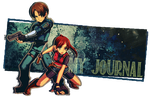 Claire and Leon Journal Banner by Aletheiia90