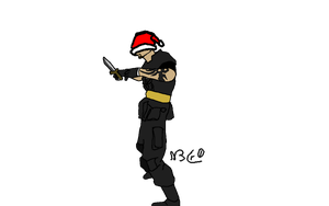 Sgt.Masterson at xmas by N3Cr0t1C