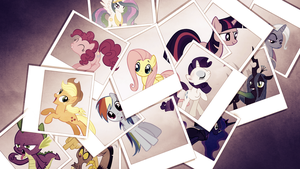collage bakground by JoshiePup