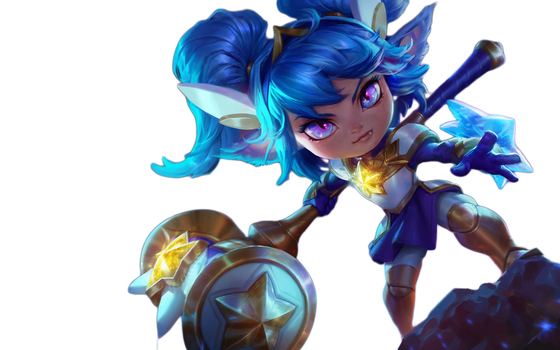 [LoL] Star Guardian Poppy (Render) by PopokuPinguPop90