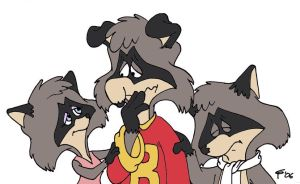 Len Carlson Tribute by the Raccoon trio by cheril59