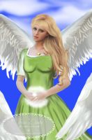 Angel of Pregnancy by Tricia-Danby