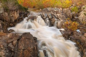 Great Falls Autumn Cascades by somadjinn