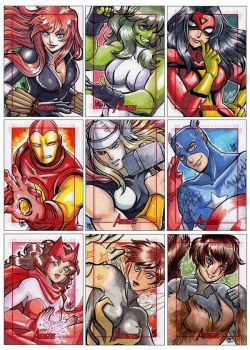 Marvel's Greatest Heroes Preview by aimo