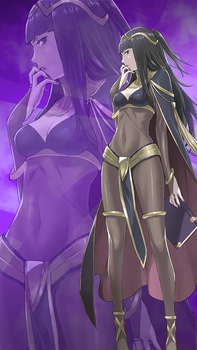 FE Heroes May Wallpaper - Tharja by Kaz-Kirigiri