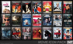 Movie Icon Pack 147 by FirstLine1