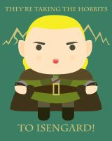 They're taking the hobbits to Isengard! by mtkuy