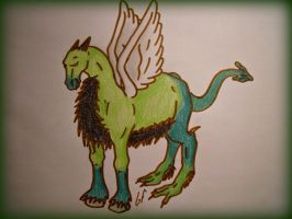 My Ddraig Ceffyl - Doodle by Subdivided